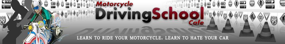 Motorcycle Driving School Cafe